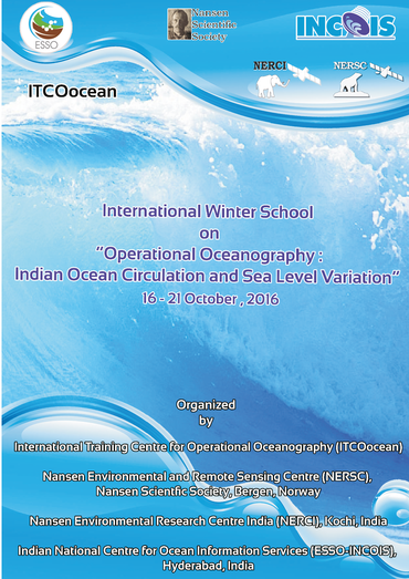 Indo-Norwegian research school in Operational Oceanography