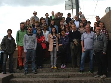 Participants of the EuRuCAS summer school 2014.