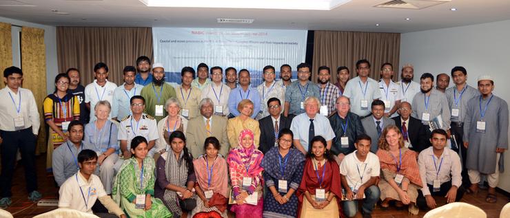 Participants of the NABIC winter school in Cox´s Bazar, Bangladesh October 12-17, 2014.