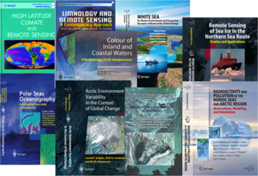 Some Nansen Centers book publications published by Springer-Praxis.