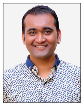 Dr Abhishek S. Shah.