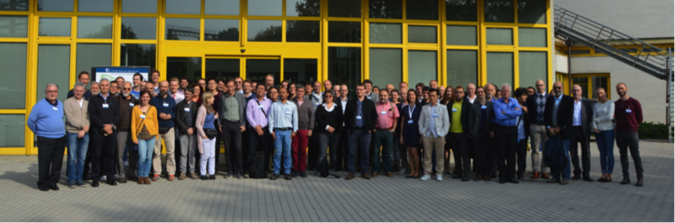 Participants at the Symposium Numerical modeling, predictability and data assimilation in weather, ocean and climate.