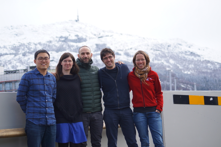 From the Nansen Center: Yiguo Wang, Helene R. Langehaug, Alberto Carrassi, François Counillon and Madlen Kimmritz.
