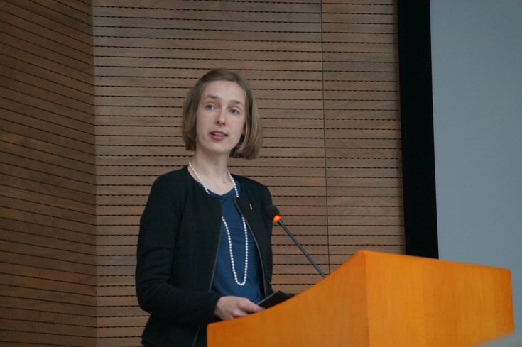 Visited NZC: The Minister of Research and Higher Education, Iselin Nybø