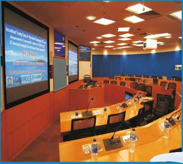 The winterschool venue: e-classroom @ ITCOcean, INCOIS