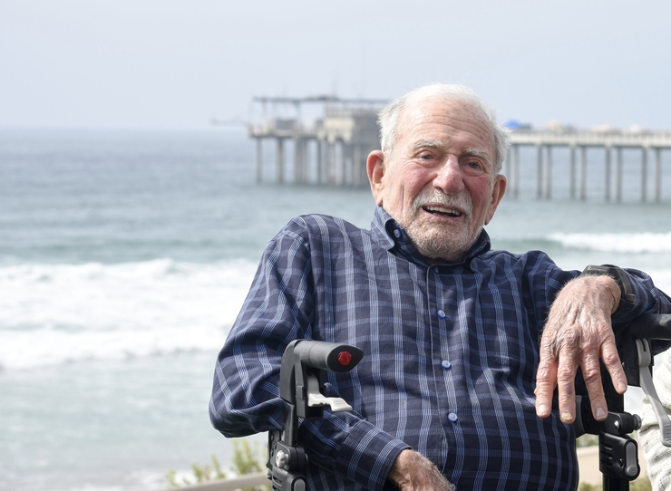Walter Munk: (October 19, 1917 – February 8, 2019)