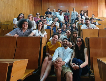 Students and lecturers at the summer school on Data Assimilation in Timișoara, Romania.
