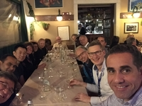 Dinner with working group