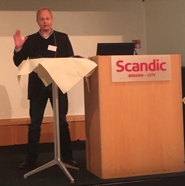 Director Sebastian H. Mernild, NERSC.