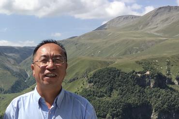 Yongqi Gao during a summer school in Georgia in 2018. Photo: Tore Furevik