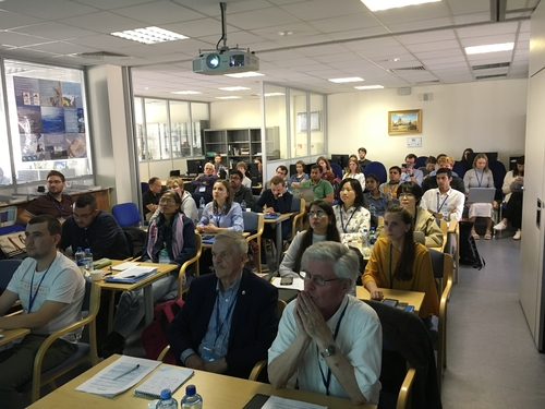 Students and lecturers at the Nansen international interdisciplinary PhD and Post-Doc research school on Observing and Modelling the Arctic – Climate processes, prediction and projection at NIERSC in St. Petersburg.