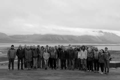 Students and lecturers participating at the Nansen-NVP summer research school The Arctic Ocean and the marginal ice zone (MIZ) - interdisciplinary research, management practices, and policy developments in 2017.