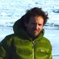 SASIP-Principal Investigator Pierre Rampal in the Fram Strait.: Credit: Marta Lorenz