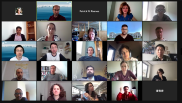 Screenshot of several of the participants on Zoom during the all-digital summer school, taken by Laurent Bertino.