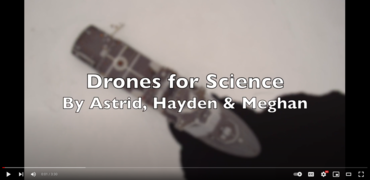 Drones for science: a film demonstrating how drones can be used to observe ice from above and below.
