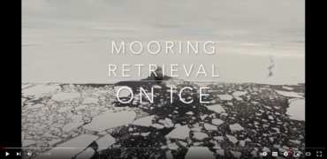 Mooring retrieval on ice: a film about how the ocean under the sea ice is observed by fixed moorings.