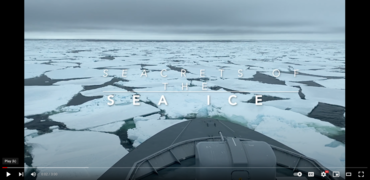The secrets of the sea ice: a film describing the different sea ice you find in the Arctic.