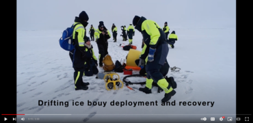 Drifting ice buoy deployment and recovery: a film about how to use drifting buoy to collect acoustic and oceanographic data.