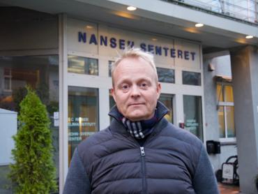 Nansensenterets direktør Sebastian H. Mernild.