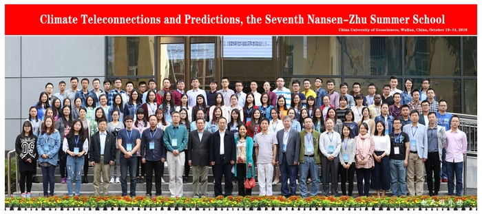 Particpants of the 7th Nansen-Zhu Centre summer school on Climate Teleconnectections and Predictions.